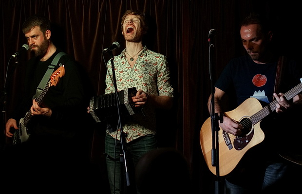 In photos: Lost Cavalry at the Folkroom music night, Harrison's Bar, Kings Cross