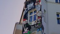 I was back in Berlin last weekend to play another show with The Monochrome Set, and took time out to grab photos of some of the interesting street art, graffiti […]