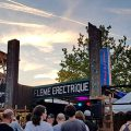 The fabulous La Ferme Electrique festival, Tournan en Brie, France, with The Monochrome Set, Fri 6th July 2018