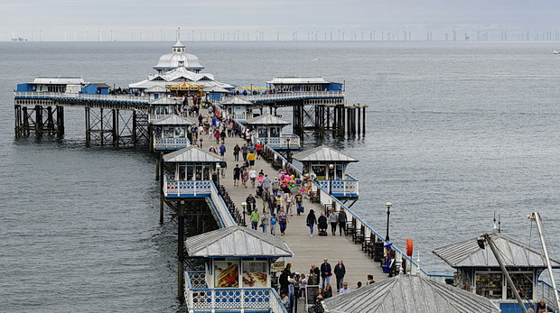 Llandudno Pier: a splendid, Grade II listed Victorian pier in north Wales