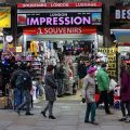 London street photography: tourists, galleries, street art and Halloween, October 2018