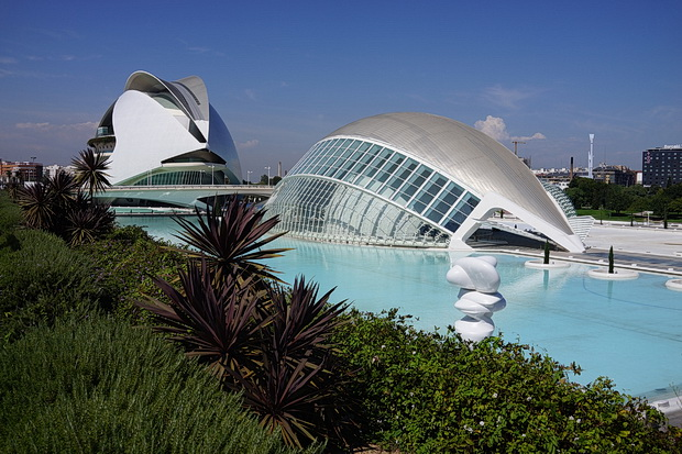 The incredible futuristic City of Arts and Sciences in Valencia, Spain - in photos