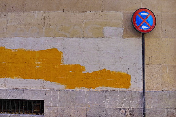 Zaragoza photos: Colours, life, street art, signs, architecture and The Monochrome Set