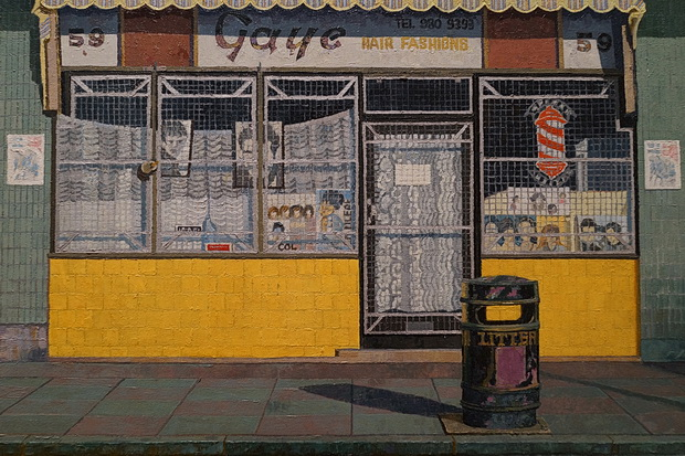 Must see: Doreen Fletcher's incredible East London urban street paintings at the Nunnery Gallery, London E3