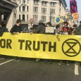 Follow on from our earlier photo report, here's some more images from today's Extinction Rebellion action in central London. All photos/video by Niall Carroll.