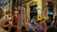 "La Mercè is the annual festival of the city of Barcelona in Catalonia, and a major part of the festivities is the parade through the streets of papier maché ""giants"" […]"