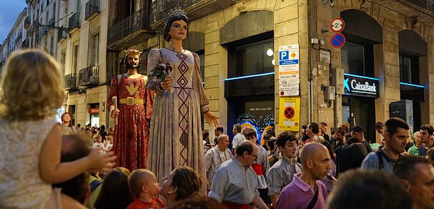 In photos: The parade of giants, La Mercè festival, Barcelona, Spain