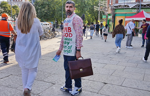 In photos: The street preacher of Shepherd's Bush, west London