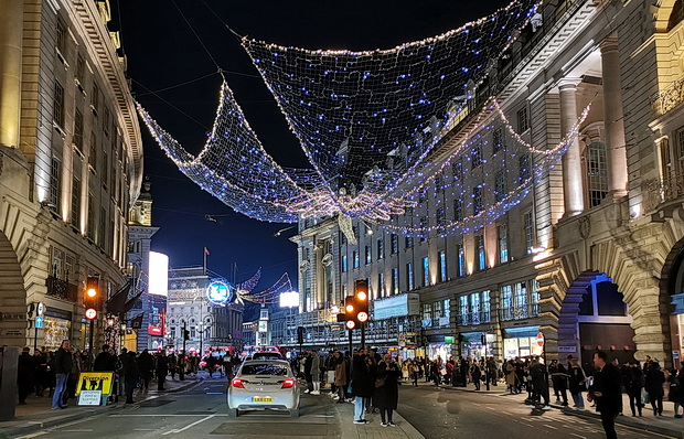In photos: London Christmas lights and markets - Regent Street, Leicester Square, Carnaby Street and Trafalgar Square