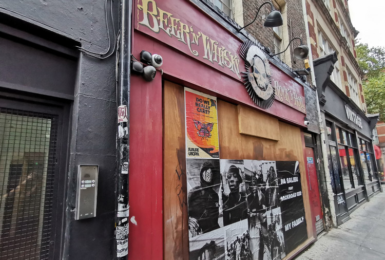 Goodbye to the Crobar, one of the last of the central London rock'n'roll bars