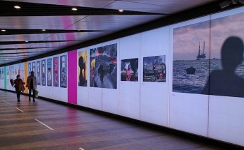 Check out the Face To Face exhibition, King's Cross Tunnel, London, Oct- 19th Nov 2020