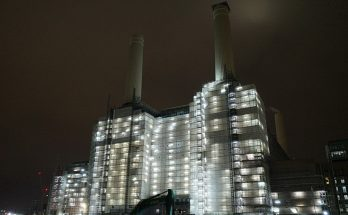 In photos: Battersea Power Station redevelopment - luxury flats, trendy shops and security guards