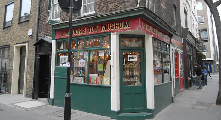 Help save the fabulous Pollock's Toy Museum in central London