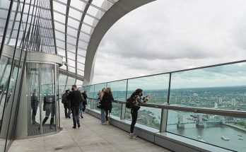 In photos: spectacular views from the Sky Garden in the City of London