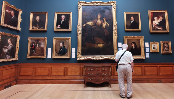 Dulwich Picture Gallery and gardens - photo feature