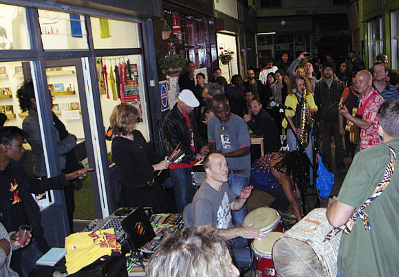 Brixton Pound 1st Birthday Party at the Brixton Village, Coldharbour Lane, Brixton, Lambeth, London UK 15th September 2010