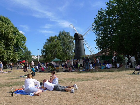 Brixton Windmill Festival, Blenheim Gardens, Brixton, Lambeth, London SW2, England, July 2010