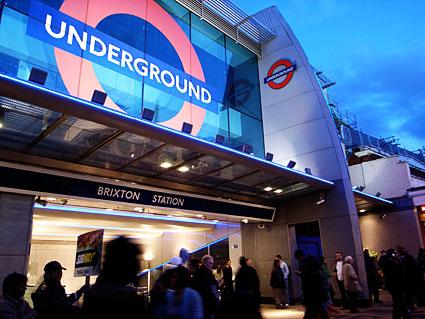 Brixton Tube Station London Underground Victoria Line