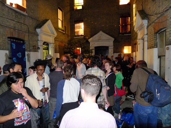 Eviction Party For The Clifton Mansion Squats On
