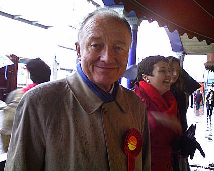 Ken Livingstone in Brixton