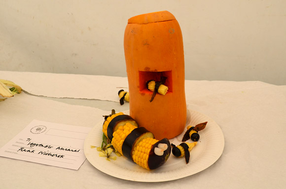 Photos Of The Amusing Vegetable Animal Creations Lambeth
