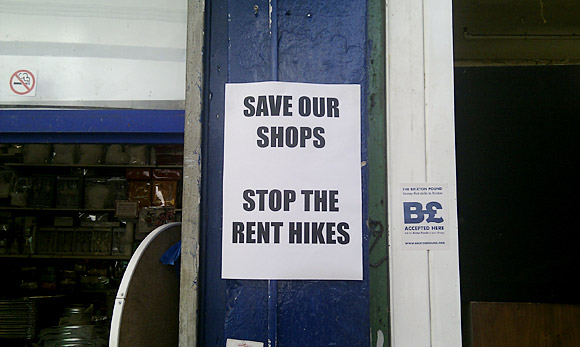 Save Our Shops - Brixton Village battles against rent hikes