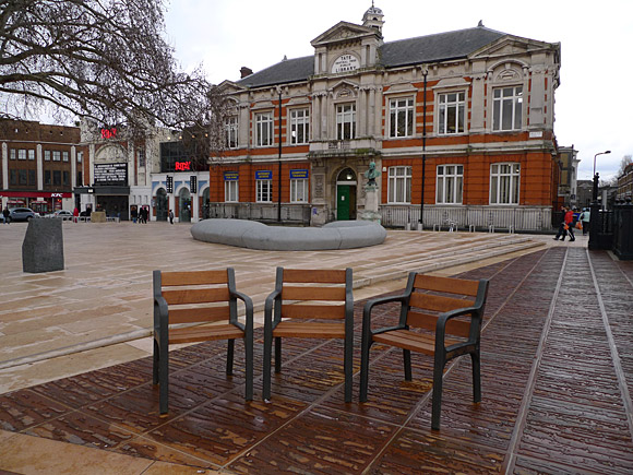 Windrush Square, Brixton Oval, Brixton, south London