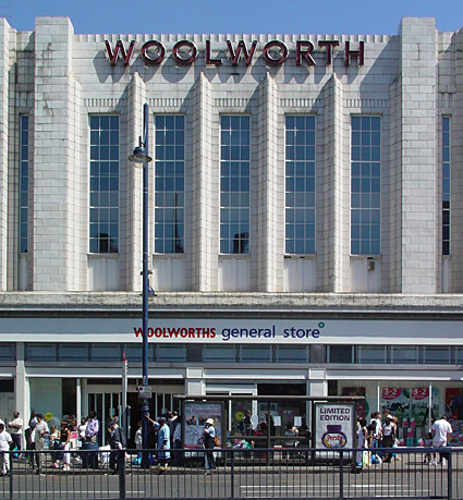 Woolworths, Brixton Road, Brixton, London