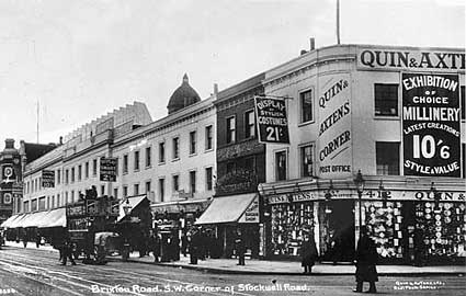 Quin & Axtens, 422-438 Brixton Road, London SW9
