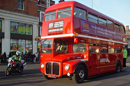 London Routemaster Farewell In Brixton