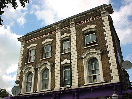 The Queen pub on Bellefields Road/Ferndale, Brixton
