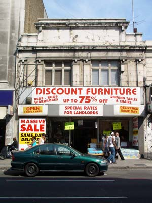 Discount furniture store brixton road brixton lambeth for Shop cheap furniture online