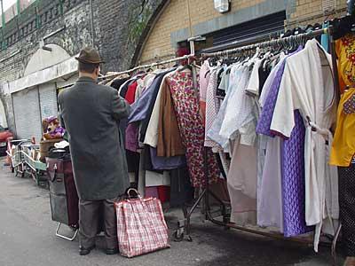 Shopper, Second hand clothes store, Brixton Station Road, Brixton