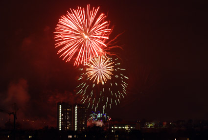 Fireworks, Brockwell Park