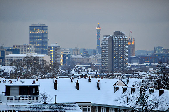 Photos Of Central Brixton Covered In Snow South London