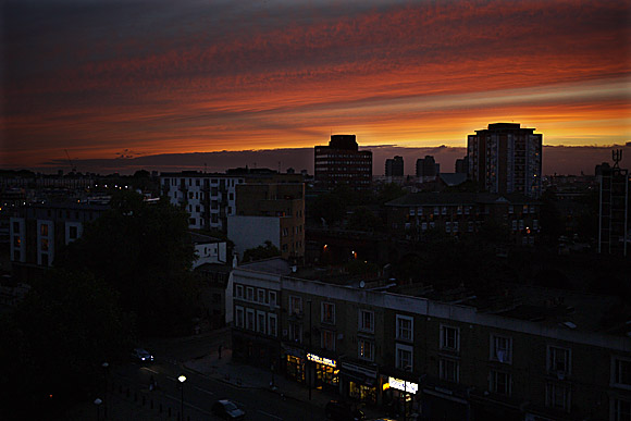 Cracking Brixton sunset...