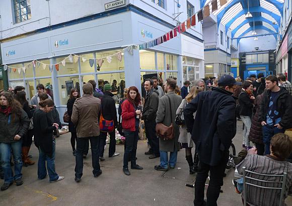 Brixton Village on a Saturday