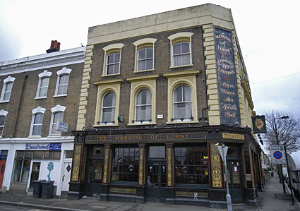 Marquis Of Lorne Pub 49a Dalyell Road Brixton Lambeth London Sw9 9sa