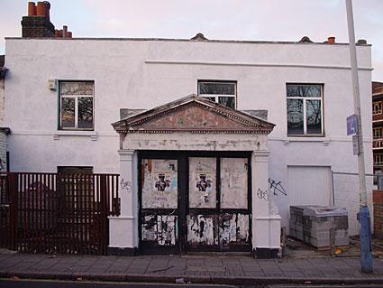 walk down Brixton Water Lane, Brixton, Lambeth, London SW9