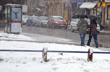 Brixton snow