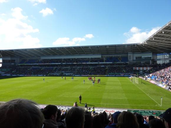 Cardiff City 3 Bristol City 2, Championship, Cardiff City Stadium, 16th October 2010