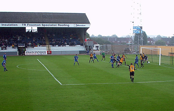 Crap away trips: Cambridge Utd vs Cardiff City, 2001