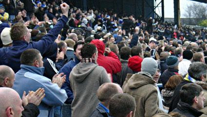 Cardiff 2 Plymouth Argyle 2, Championship Dec 26 2006, Ninian Park, Cardiff