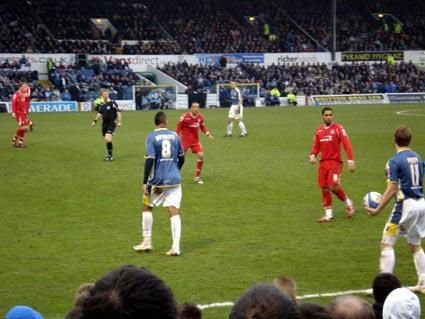 Cardiff 2 nottingham forest 0 championship january 31st for 3 cakewalk terrace