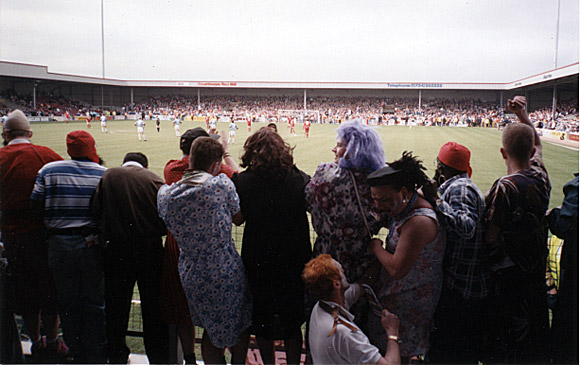 Great Cardiff City FC moments: the 1993 tranny pitch invasion