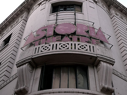 Goodbye to the London Astoria music venue, Charing Cross Road, London, 14 January 2009