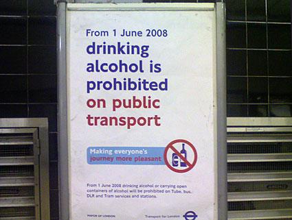 Boris the Buffoon's Booze ban