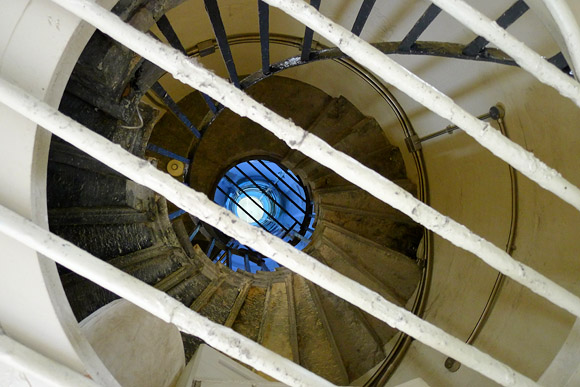 Climbing The 311 Steps Of The Monument Tower In Central London