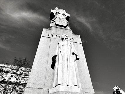 Edith Cavell, British World War I nurse and humanitarian.