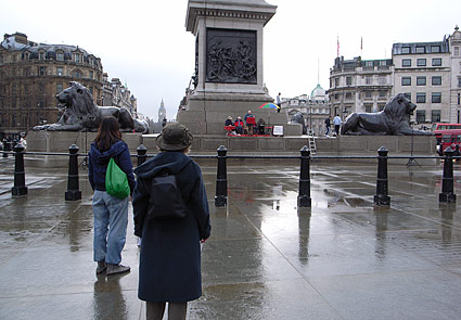 Biblical Gospel Ministries' in Trafalgar Square